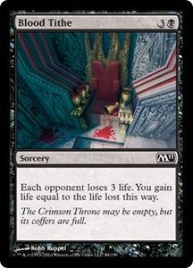 Magic the Gathering Magic 2011 (M11) Single Card Common #84 Blood Tithe