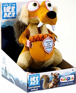 Ice Age Continental Drift Movie Electronic Plush Shivering Scrat