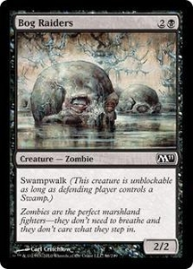 Magic the Gathering Magic 2011 (M11) Single Card Common #86 Bog Raiders