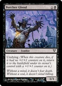 Magic the Gathering Avacyn Restored Single Card Black Common #89 Butcher Ghoul