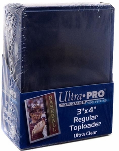 Ultra Pro Card Supplies 25 Count Box Clear Card Sleeves