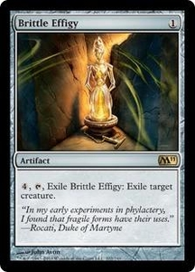 Magic the Gathering Magic 2011 (M11) Single Card Rare #202 Brittle Effigy