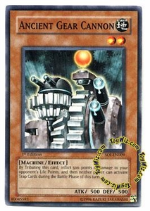 YuGiOh GX Shadow of Infinity Single Card Common SOI-EN009 Ancient Gear Cannon