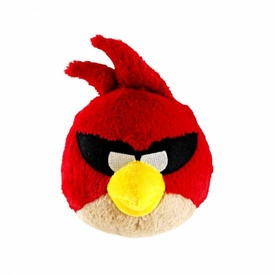 Angry Birds SPACE 5 Inch MINI Plush With Sound Super Red Bird