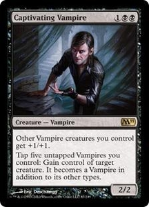 Magic the Gathering Magic 2011 (M11) Single Card Rare #87 Captivating Vampire