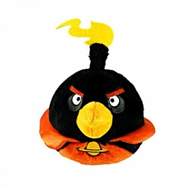 Angry Birds SPACE 5 Inch MINI Plush With Sound Firebomb Bird