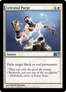 Magic the Gathering Magic 2011 (M11) Single Card Uncommon #9 Celestial Purge