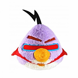 Angry Birds SPACE 5 Inch MINI Plush With Sound Lazer Bird