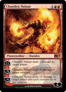 Magic the Gathering Magic 2011 (M11) Single Card Mythic Rare #127 Chandra Nalaar