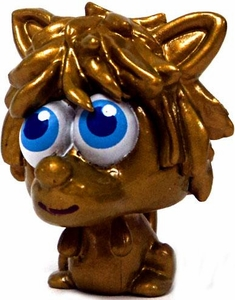 Moshi Monsters Moshlings 1.5 Inch Series 3 Mini Figure #M18 GOLD Shrewman