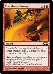 Magic the Gathering Magic 2011 (M11) Single Card Common #128 Chandra's Outrage