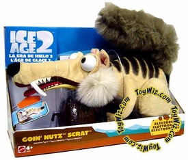 Ice Age 2 The Meltdown Movie Electronic Action Figure Goin' Nutz Scrat Very Hard to Find!