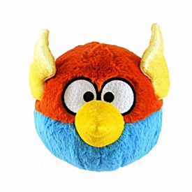 Angry Birds SPACE 5 Inch MINI Plush With Sound Lightning Bird