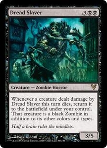 Magic the Gathering Avacyn Restored Single Card Black Rare #98 Dread Slaver