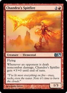 Magic the Gathering Magic 2011 (M11) Single Card Uncommon #129 Chandra's Spitfire