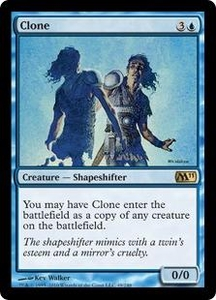 Magic the Gathering Magic 2011 (M11) Single Card Rare #49 Clone