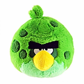 Angry Birds SPACE 8 Inch DELUXE Plush With Sound Green Monster Bird