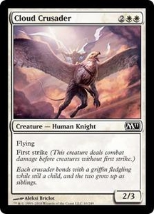 Magic the Gathering Magic 2011 (M11) Single Card Common #10 Cloud Crusader