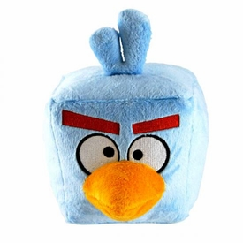 Angry Birds SPACE 8 Inch DELUXE Plush With Sound Ice Bird