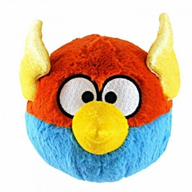 Angry Birds SPACE 8 Inch DELUXE Plush With Sound Lightning Bird