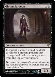 Magic the Gathering Avacyn Restored Single Card Black Rare #104 Gloom Surgeon