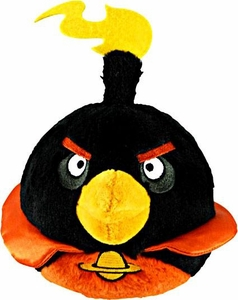 Angry Birds SPACE 16 Inch JUMBO Plush Firebomb Bird