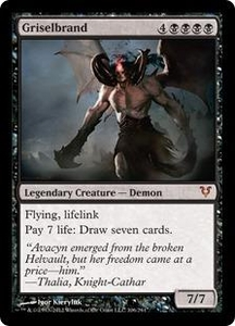 Magic the Gathering Avacyn Restored Single Card Black Mythic Rare #106 Griselbrand