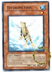 YuGiOh GX Shadow of Infinity Single Card Rare SOI-EN025 Treeborn Frog