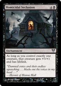 Magic the Gathering Avacyn Restored Single Card Black Uncommon #108 Homicidal Seclusion