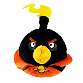 Angry Birds SPACE Exclusive 8 Inch Deluxe Plush Firebomb Bird