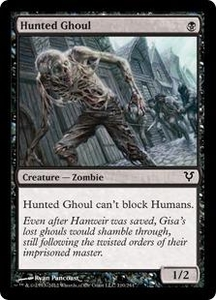 Magic the Gathering Avacyn Restored Single Card Black Common #110 Hunted Ghoul