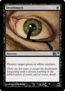Magic the Gathering Magic 2011 (M11) Single Card Uncommon #91 Deathmark