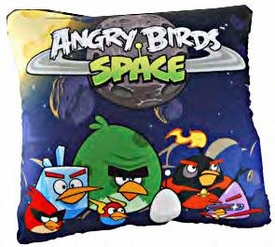 Angry Birds SPACE Pillow Group