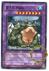 YuGiOh GX Shadow of Infinity Single Card Common SOI-EN036 D.3.S. Frog