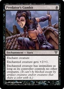 Magic the Gathering Avacyn Restored Single Card Black Common #117 Predator's Gambit