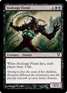 Magic the Gathering Avacyn Restored Single Card Black Common #120 Soulcage Fiend