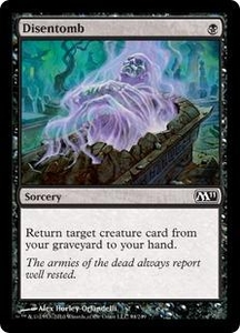 Magic the Gathering Magic 2011 (M11) Single Card Common #94 Disentomb