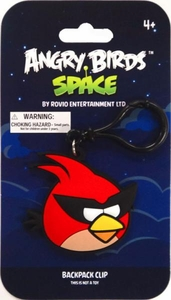 Angry Birds SPACE PVC Backpack Clip Super Red Bird