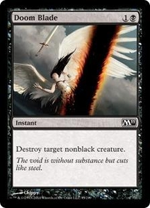 Magic the Gathering Magic 2011 (M11) Single Card Common #95 Doom Blade