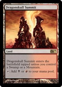 Magic the Gathering Magic 2011 (M11) Single Card Rare #223 Dragonskull Summit