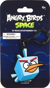 Angry Birds SPACE PVC Backpack Clip Ice Bird