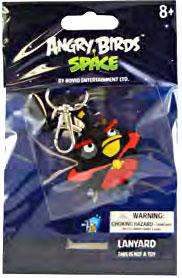 Angry Birds SPACE Lanyard Firebomb Bird