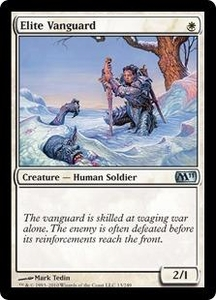 Magic the Gathering Magic 2011 (M11) Single Card Uncommon #13 Elite Vanguard