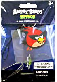 Angry Birds SPACE Lanyard Super Red Bird