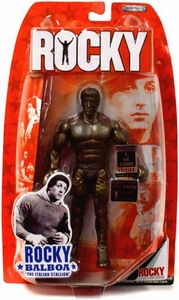 Jakks Pacific Rocky Limited Edition Action Figure The Philly Legend Bronze Statue Only 1,000 Made!