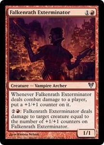 Magic the Gathering Avacyn Restored Single Card Red Uncommon #134 Falkenrath Exterminator