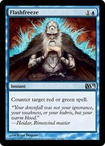 Magic the Gathering Magic 2011 (M11) Single Card Uncommon #53 Flashfreeze