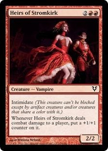 Magic the Gathering Avacyn Restored Single Card Red Common #140 Heirs of Stromkirk