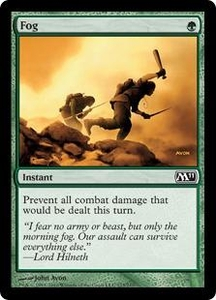 Magic the Gathering Magic 2011 (M11) Single Card Common #173 Fog