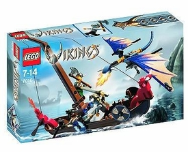 LEGO Vikings Set #7016 Viking Boat Against the Wyvern Dragon